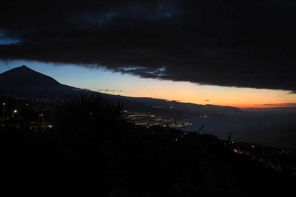 Evening Teide